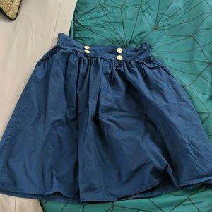 A-line retro skirt
